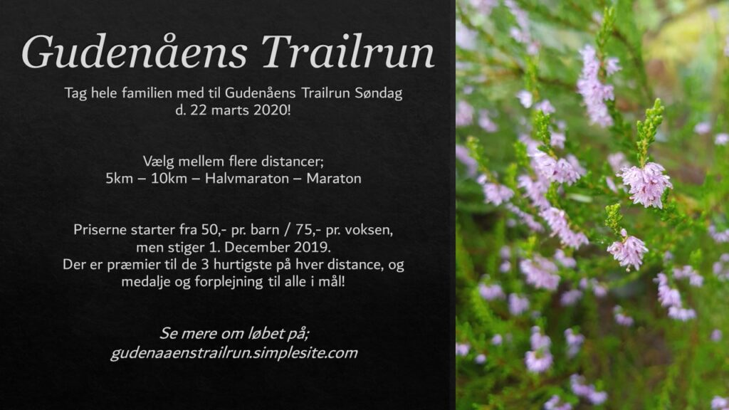 Trailrun 22. marts